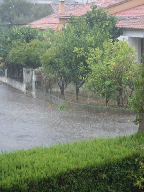 pluie à Miomo